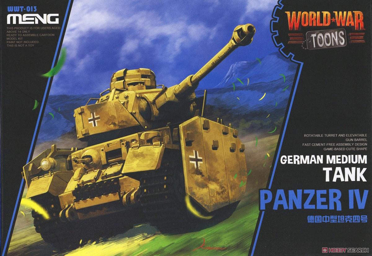 WWT German Medium Tank Panzer IV (Plastic model) Package1
