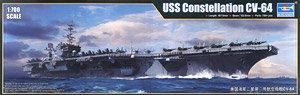 アメリカ海軍 空母 CV-64 コンステレーション (プラモデル)