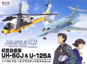よみがえる空 航空自衛隊 UH-60J & U-125A (プラモデル)