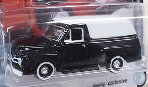 Johnny Lightning Classic Gold - 1955 Ford F100 Panel Delivery Raven Black (ミニカー)