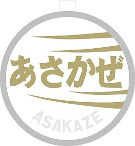1/80(HO) Train Name Plate for EF60 `Asakaze` (Model Train)
