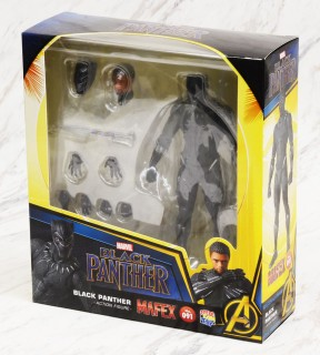 MEDICOM TOY MAFEX No.091 Black Panther Height approx 160mm movable figure