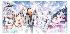 Rubber Mat Collection Re Zero Starting Life In Another World Memory Snow Key Visual Ver Card Supplies Hobbysearch Trading Card Store