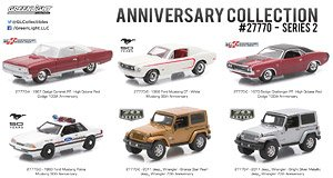 Anniversary Collection Series 2 set of 6 (Diecast Car)