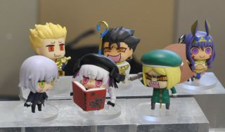 Fate Grand Order 2/'/' Nursery Rhyme Learning With Manga Episode 3 Trading Figure