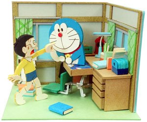 [Miniatuart] Doraemon Mini : All the Way From the Future Country (Assemble kit) (Railway Related Items)