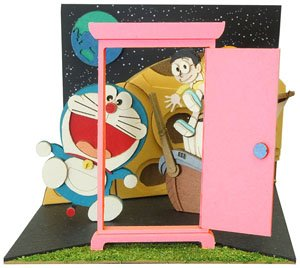 [Miniatuart] Doraemon Mini : Treasure Planet (Assemble kit) (Railway Related Items)