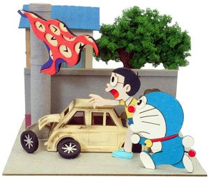 [Miniatuart] Doraemon Mini : The Time Cloth (Assemble kit) (Railway Related Items)