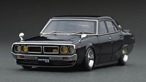 Nissan Skyline 2000 GT-X (GC110) Black Metallic (ミニカー)