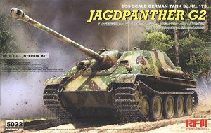 Jagdpanther G2 with Full Interior & Workable Track Links (Plastic model)