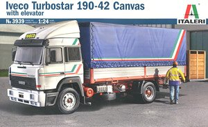 Iveco Turbostar 190-42 Canvas with Elevator (Model Car