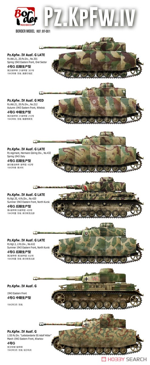 German Pz.kpfw.IV Ausf.G Mid/Late (Plastic model) Other picture2