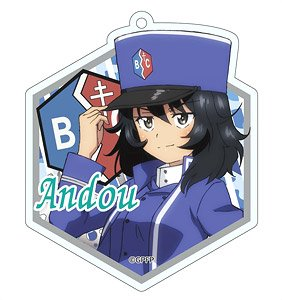 Girls und Panzer das Finale [Especially Illustrated] (Ando) Acrylic Key Ring (Anime Toy)