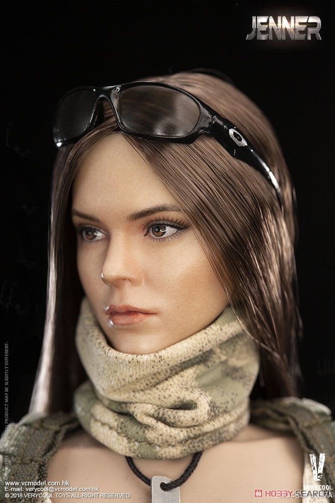 A-TACS FG Woman Soldier Jenner A (Fashion Doll) Item picture2