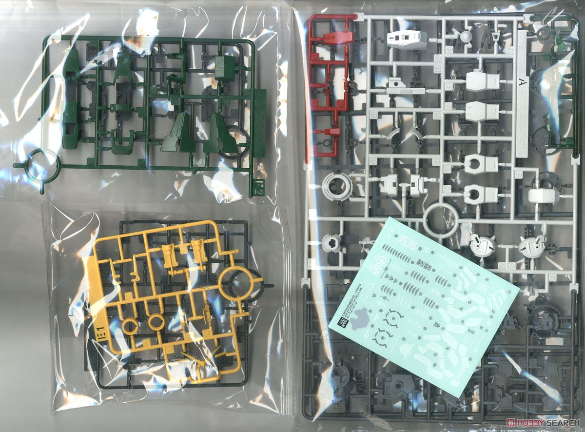 Gundam Dynames (MG) (Gundam Model Kits) Contents1