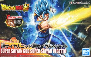 Figure-rise Standard Super Saiyan God Super Saiyan Vegetto (Plastic model)