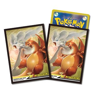 Pokemon Card Game Deck Shield Reshiram & Charizard Tag Team GX (Card Sleeve)