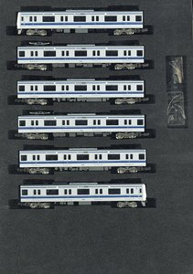 Seibu Series 6000 Aluminum Body (6156 Formation/Updated Car) Standard Six Car Formation Set (w/Motor) (Basic 6-Car Set) (Pre-colored Completed) (Model Train)