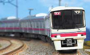 Keio Series 8000 (Large Scale Modified Car/8005 Formation/White