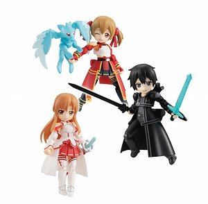 Desktop Army Sword Art Online (Set of 3) (PVC Figure)
