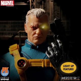 Mezco Toyz Câble One:12 collective Action Figure X-Men nouvelle Pré Commande