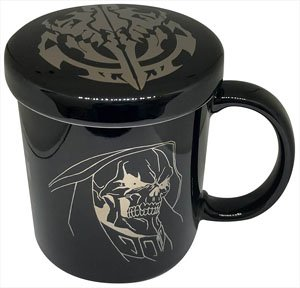 Overlord II Mug Cup with Cover Ainz (Anime Toy)