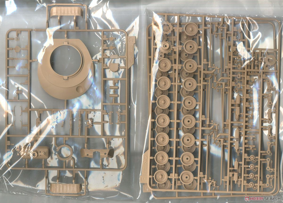 Canadian Main Battle Tank Leopard C2 MEXAS w/Dozer Blade (Plastic model) Contents3