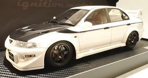 Mitsubishi Lancer Evolution VI GSR T.M.E (CP9A) White (Diecast Car)