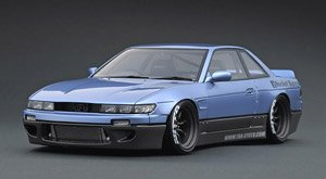 Rocket Bunny S13 V1 Purple Silver / Gray (ミニカー)