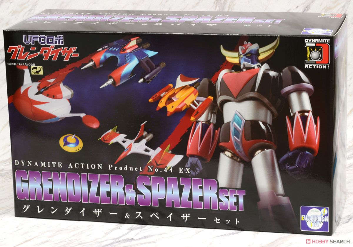 Dynamite Action! Grendizer & Spazers Set (Completed) Package1
