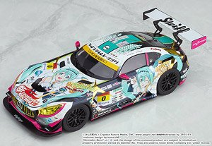 Good Smile Hatsune Miku AMG: 2018 Season Opening Ver. (Diecast Car)