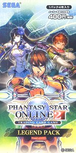 PHANTASY STAR ONLINE 2 TRADING CARD GAME LEGEND PACK (トレーディングカード)