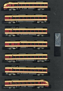 Series E653-1000 (J.N.R. Limited Express Color) Seven Car Formation Set (w/Motor) (7-Car Set) (Pre-colored Completed) (Model Train)