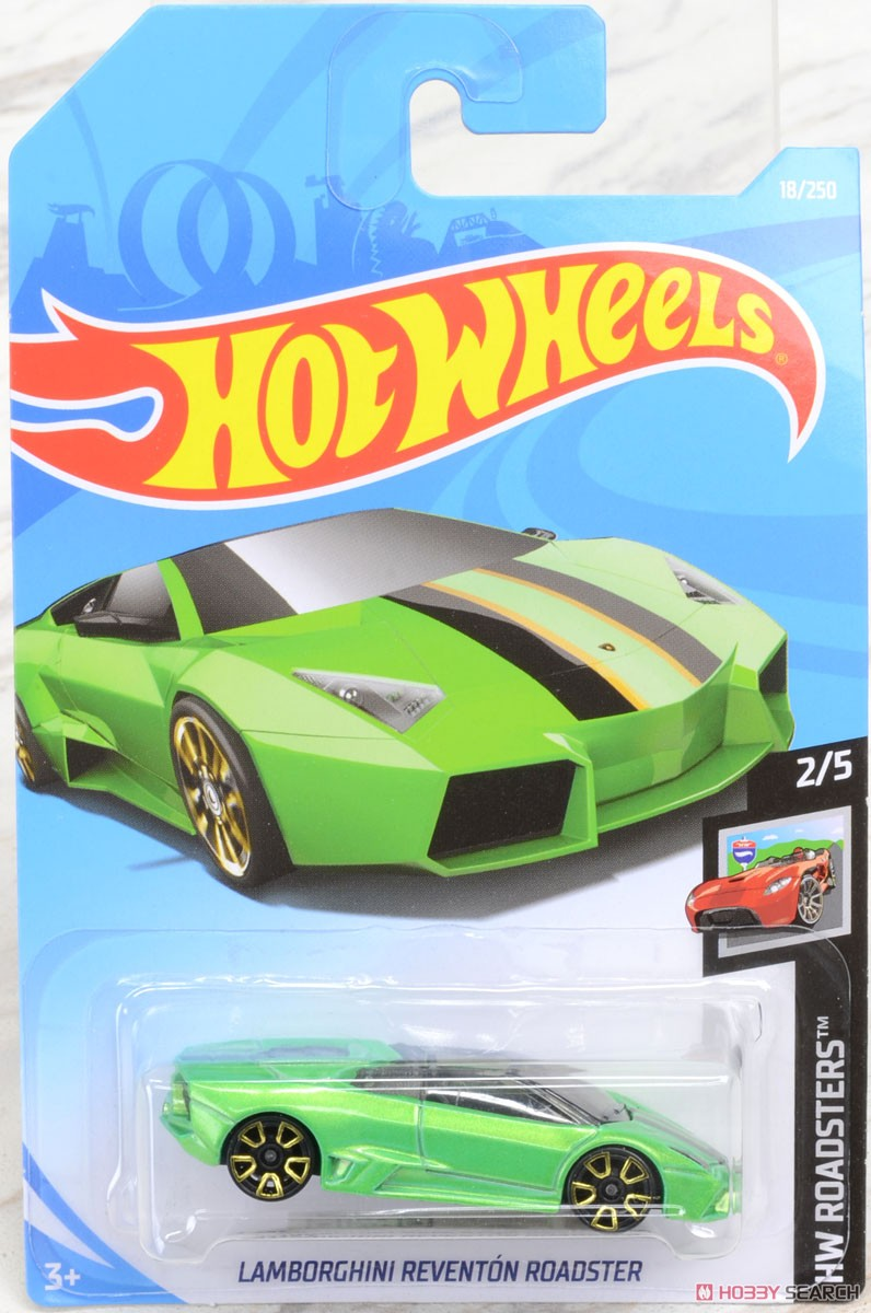 Hot Wheels Hw Roadsters Lamborghini Reventon Roadster Completed