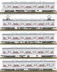 The Railway Collection Tobu Railway Series 9000 Formation 9101 Standard Five Car Set (Basic 5-Car Set) (Model Train)