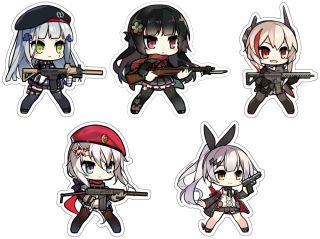 Girls Frontline Character Magnet 4 9a 91 Anime Toy Images, Photos, Reviews