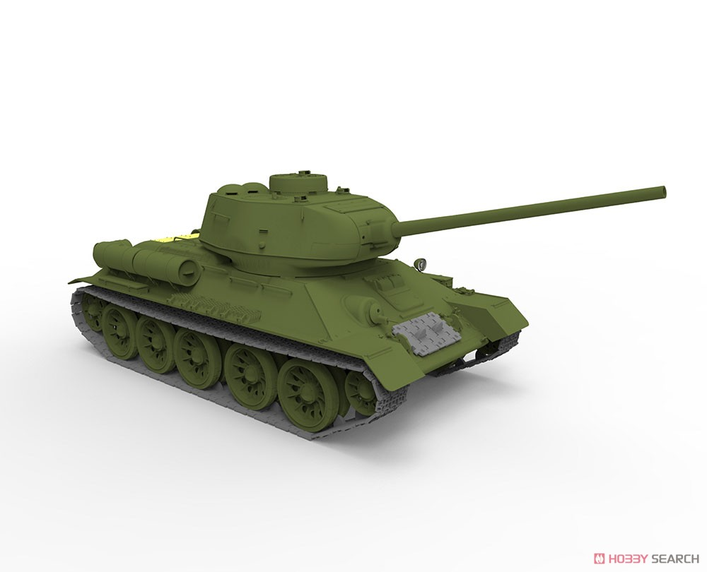 Soviet T-34/85 Midium Tank Korean War People`s Heroes No.215 (Plastic model) Other picture12