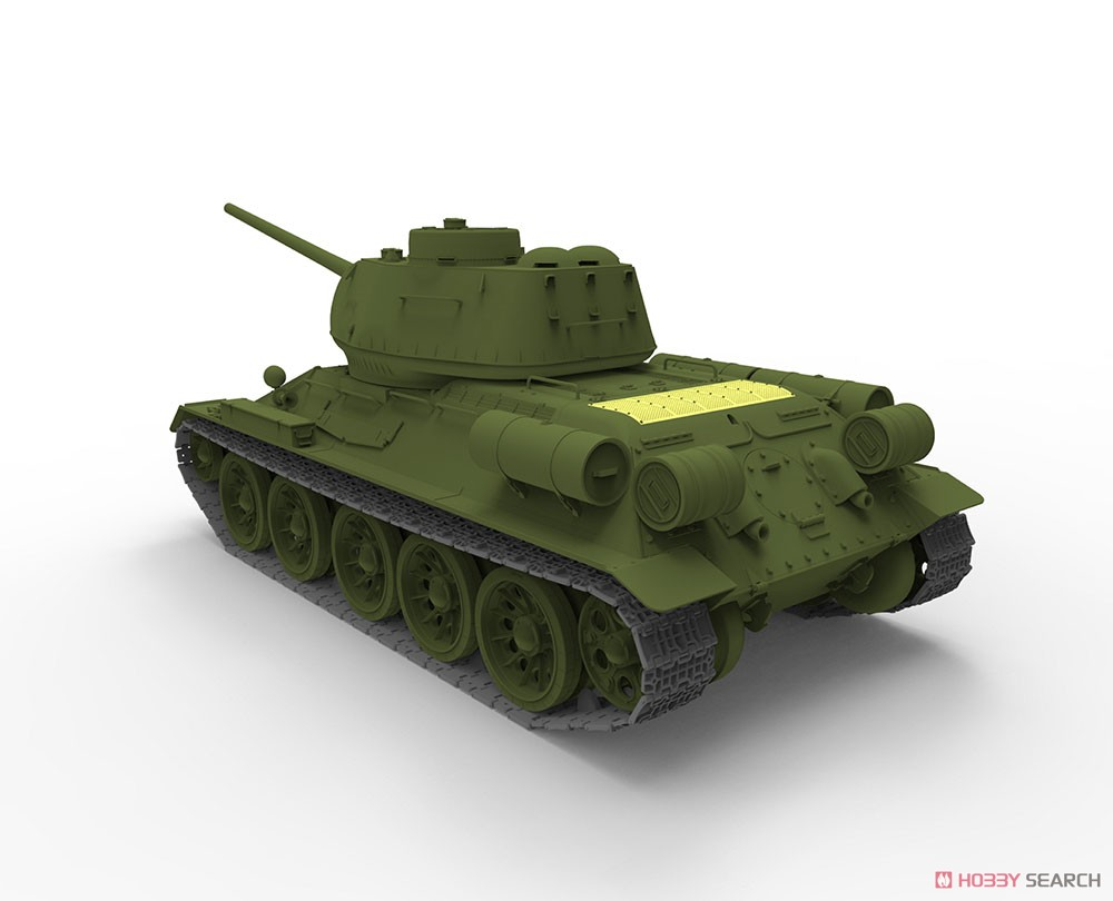 Soviet T-34/85 Midium Tank Korean War People`s Heroes No.215 (Plastic model) Other picture13