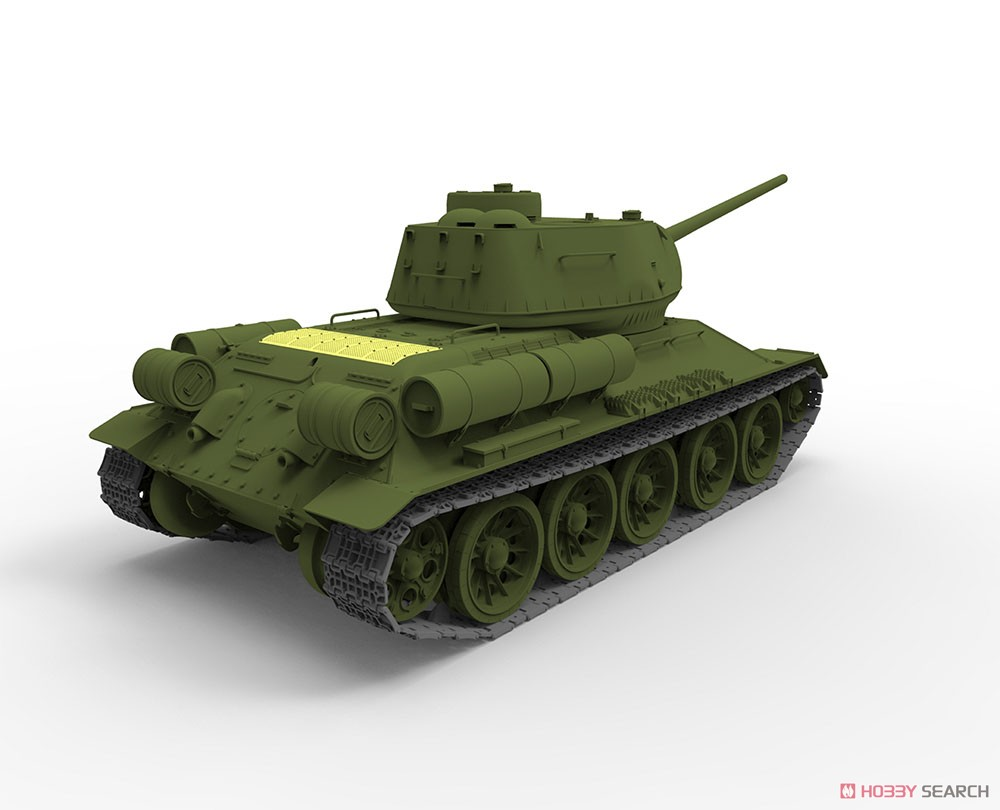 Soviet T-34/85 Midium Tank Korean War People`s Heroes No.215 (Plastic model) Other picture14