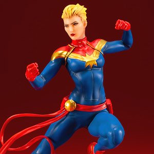 Artfx+ Captain Marvel (Completed)