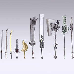 Nier: Automata Bring Arts Trading Weapon Collection (Set of 10) (PVC Figure)