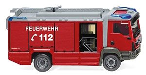 (HO) MAN TGM Euro 6 Rosenbauer AT LF Fire Engine (Model Train)