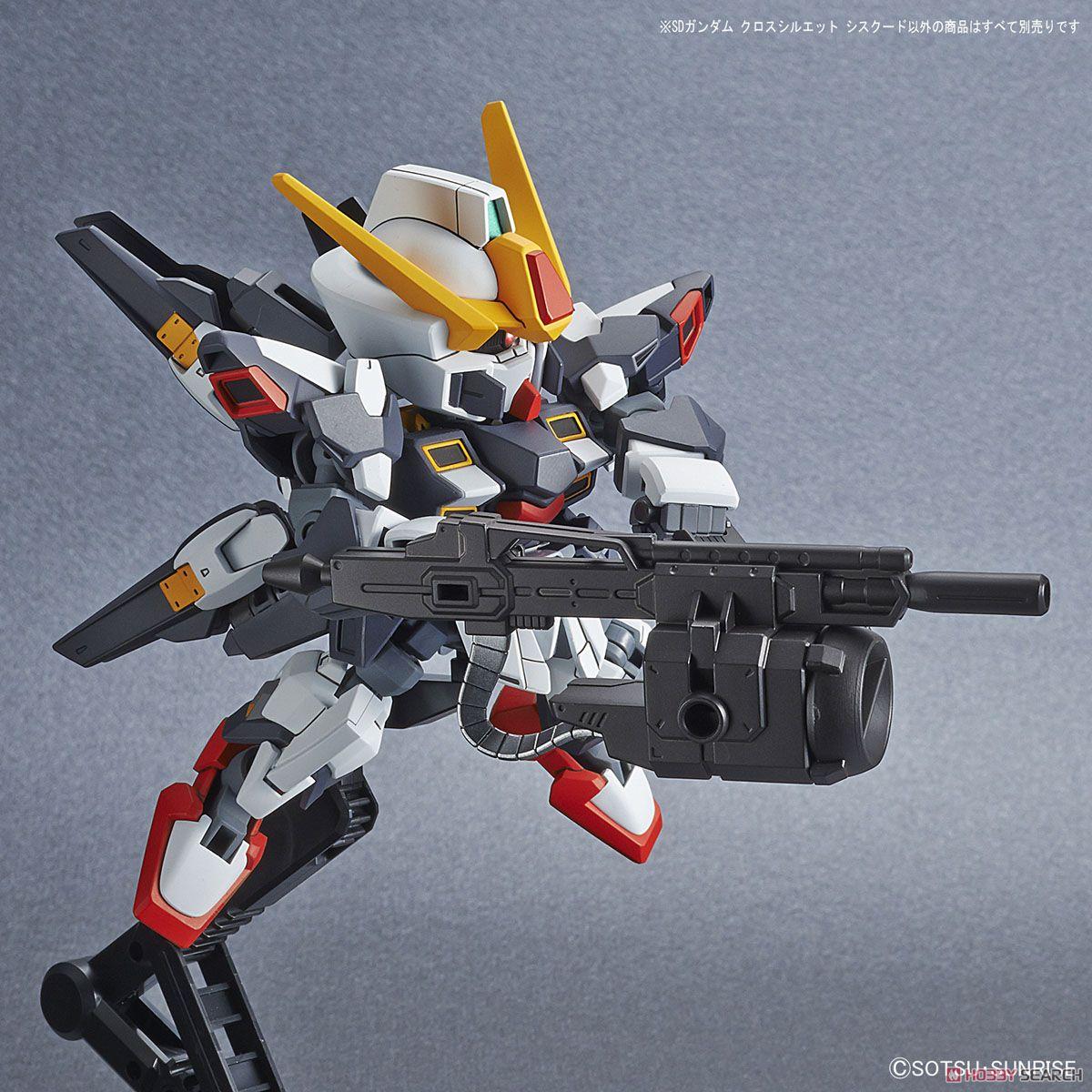 SD Gundam Cross Silhouette Sisquied (SD) (Gundam Model Kits) Item picture9