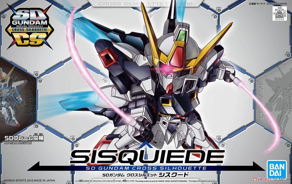 SD Gundam Cross Silhouette Sisquied (SD) (Gundam Model Kits) Package1