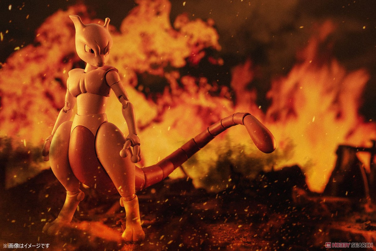 S.H.Figuarts Mewtwo -Arts Remix- (Completed) Other picture1