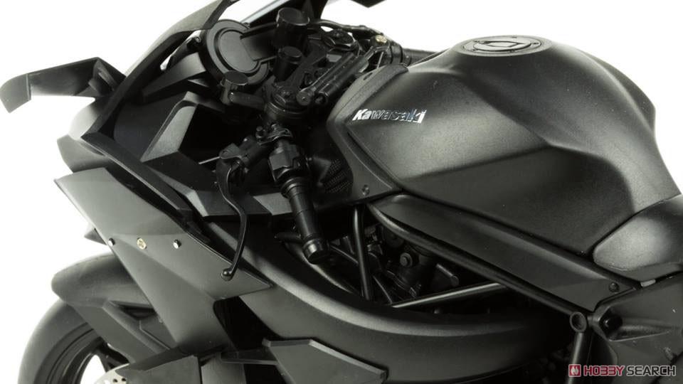 Kawasaki Ninja H2R (Pre-Colored Edition) (Model Car) Item picture9