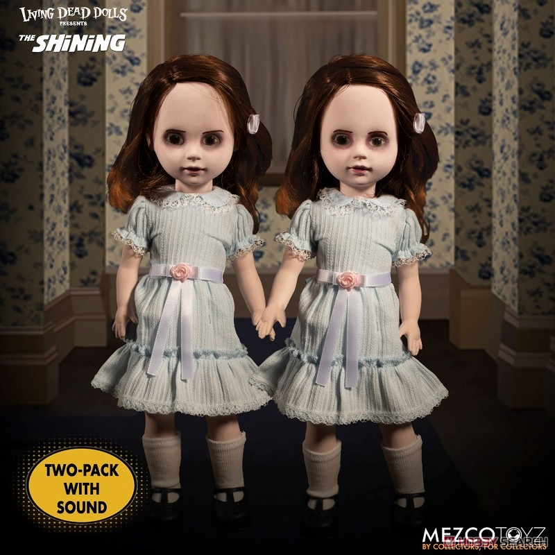 Living Dead Dolls/ The Shining: Talking Grady Twins (Two-Pack with Sound) (Fashion Doll) Other picture1