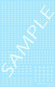 Hobby Japan Modeler`s Decal Caution A [White] (Material)