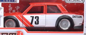JDM TUNERS DATSUN 510 Wide Body (Red) (ミニカー)