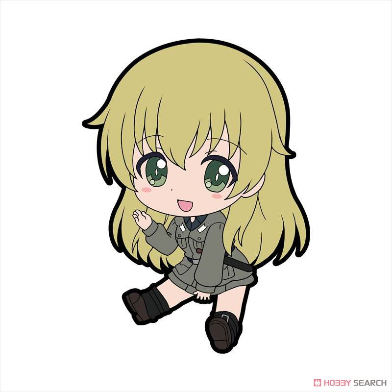 Girls und Panzer das Finale Petanko Trading Rubber Strap Vol.3 (Set of 8) (Anime Toy) Item picture2